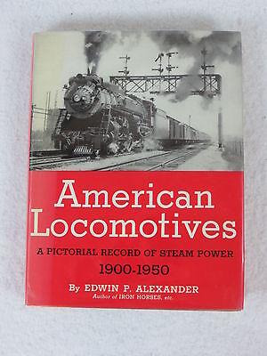 Edwin Alexander American Locomotives Bonanza Books 1950 Hc Dj