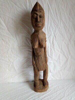 Antique Statue, Sculpture Africaine. H 64 CM