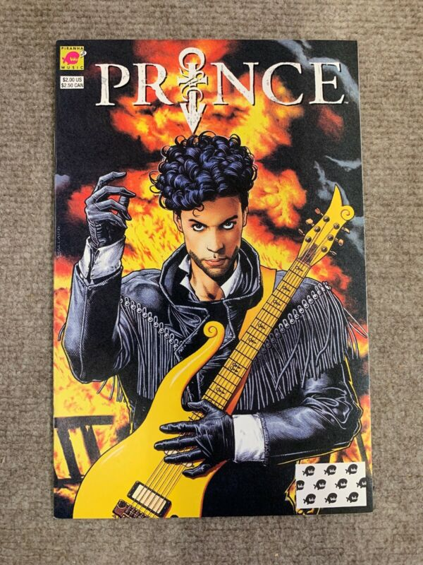 PRINCE: ALTER EGO #1 1991 1st Print Photo Back Cover