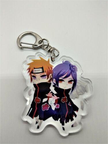 Pain and Konan Keychain