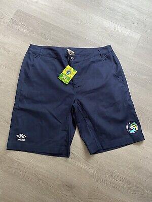 Umbro New York Cosmos Men's Blue Chino Style Shorts- Size XL -...