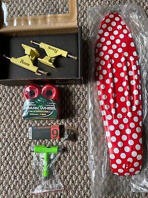 "Penny Custom Skateboard 22"" Polka Dot New Shark Wheels Free T Tool"