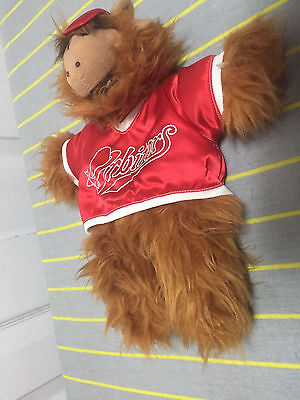 "1988  12 "" Alf hand puppet ORBITERS Burger King Promotional USED"