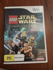 Wii Star Wars Game Chester Hill Bankstown Area Preview