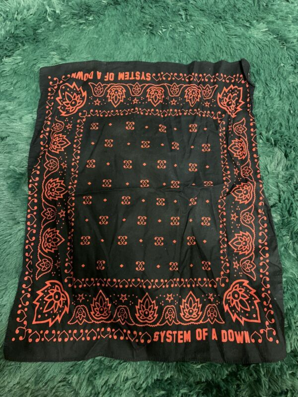 System Of A Down band black pattern Bandanahandkerchief