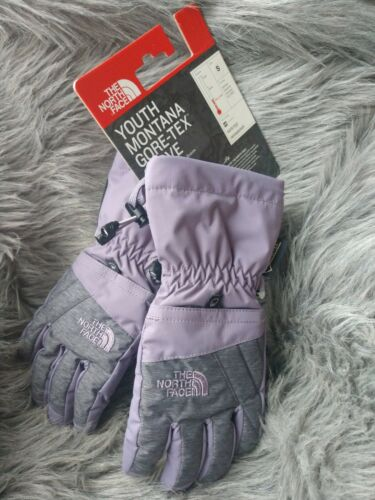 NWT THE NORTH FACE Kids Youth Montana Gore-Tex Ski Gloves Pu