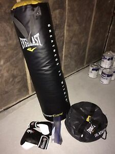 Heavy bag with gloves and all accessories. St. John's Newfoundland image 1