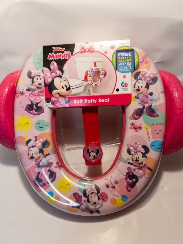 Disney Junior Minnie Soft Potty Seat | Potty Trainer App! | 18m +