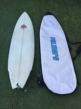"Surfboard 7"" 21"" 2 3/4"" Michael Hamilton Maryborough Fraser Coast Preview"