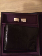 Black Wallet with Cufflinks Gwelup Stirling Area Preview