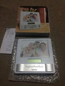 Santek Clock, Radio And Picture Frame BRAND NEW Sunbury Hume Area Preview