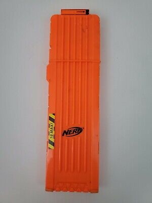 Nerf N-Strike 18 Max Round Dart Gun Ammo Clip Magazine Orange OEM