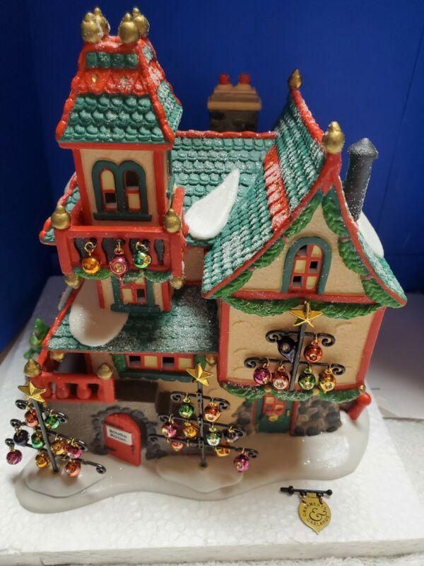 Dept. 56: Glass Ornament Works - North Pole Village