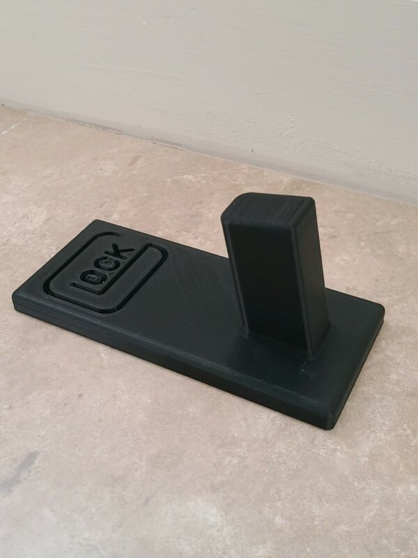 Glock stand for 19/17/26 pistol display stand black