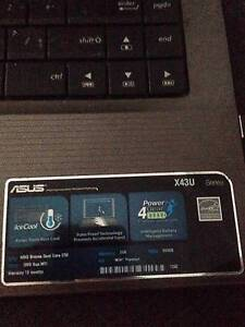 Asus Laptop for sale Villawood Bankstown Area Preview