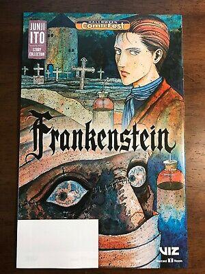 Junji Ito Frankenstein Halloween Comicfest Promo Comic Book Viz 2013 - Halloween Comicfest
