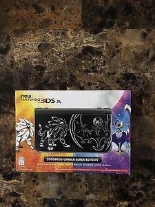New Nintendo 3DS XL édition spéciale Pokémon sun/moon NON NÉGO