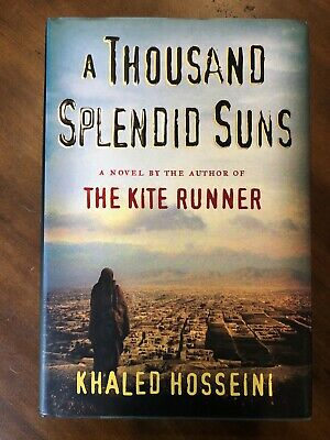 A Thousand Splendid Suns by Khaled Hosseini (2007, Hardcover) 1st Edition