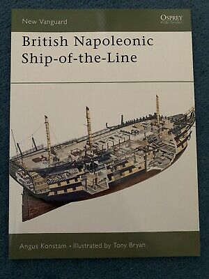 New Vanguard: British Napoleonic Ship-of-the-Line 42 by Angus Konstam (2001,...