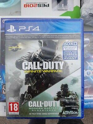 Call of duty modern warfare remastered ps4 precintado
