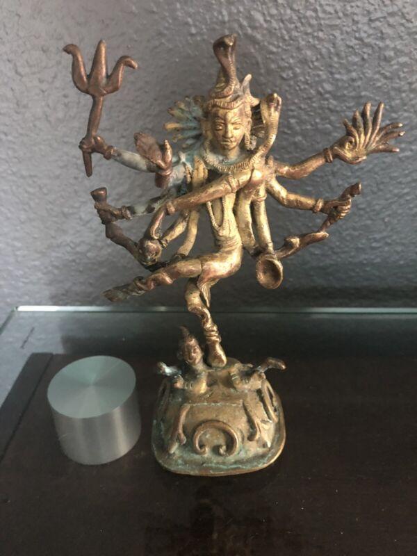 THAILAND: Thai old bronze figurine