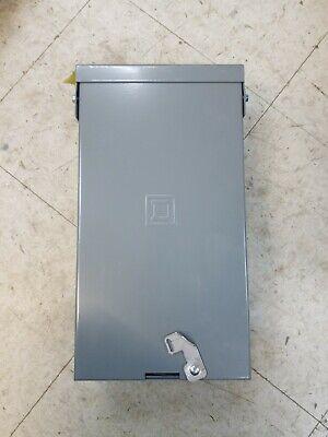 New No Box Square D 60 Amp Breaker With Qo2100bnrb Enclosure 100 Amp Max