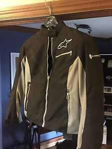 New Womans Alpinestars Street motorcycle jacket size M