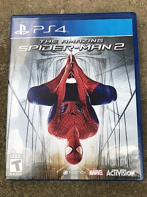 PlayStation 4 PS4 The Amazing Spider-Man 2 Case Only