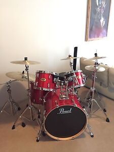 Pearl vision drum kit complete with EVERYTHING Hunters Hill Hunters Hill Area Preview