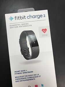 Fitbit Charge 2 - Gunmetal Series - Brand New