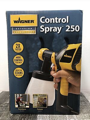 Wagner Control Spray 250 Exterior Paint Sprayer Stainer New Free Shipping