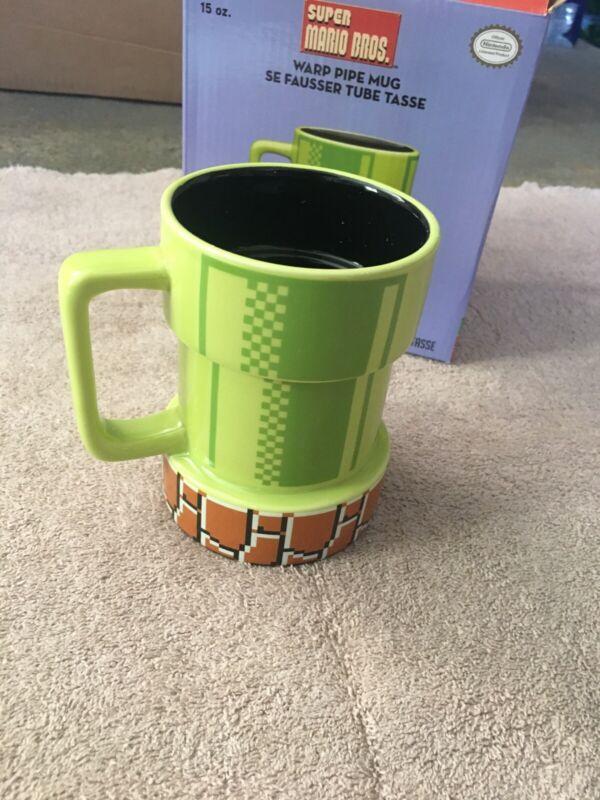 SUPER MARIO BROS NINTENDO PIPE Mug / Coffee / Tea / Office