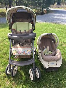 Graco Disney Stroller With Infant Seat Attachment