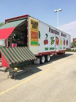 Sales person required for BC fruit stand in Saskatoon