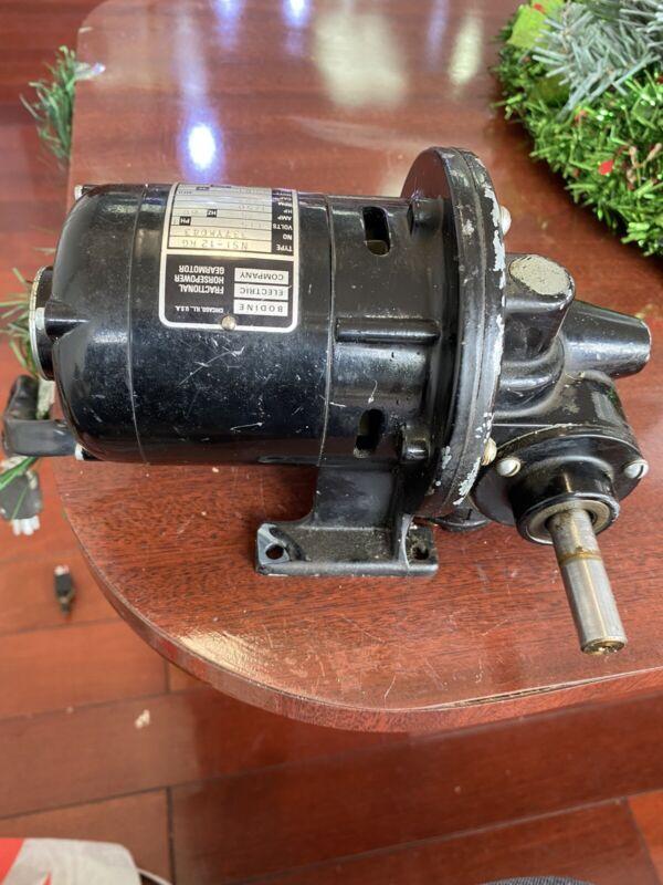 Bodine Fractional Horsepower Gearmotor