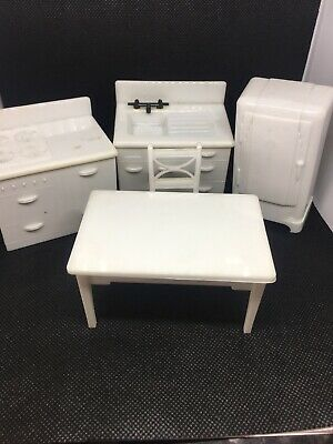 Vintage 1950's Kleeware Dolls House Furniture