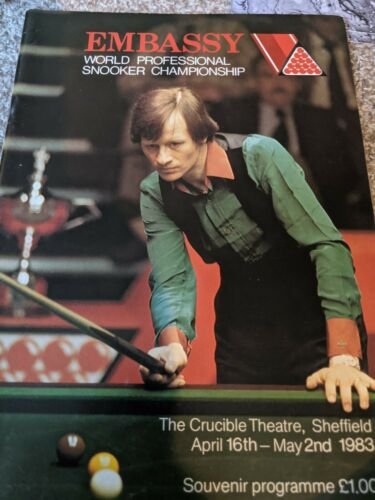 Embassy World Professional Snooker Championship Programme 1983
