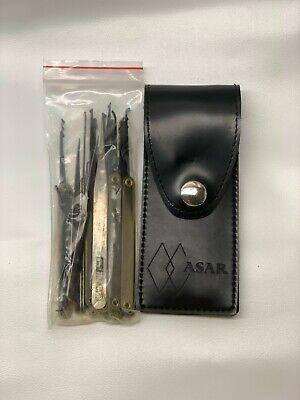 15pcs Practice Pick Set Padlock Locksmith Unlocking Key Tools Kit