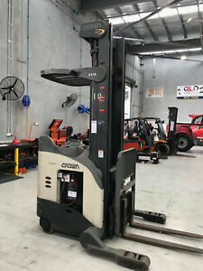 Crown RR Reach Truck with 6.8m Lift Luscombe Gold Coast North Preview