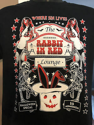 Rabbit In Red Exclusive T-shirt Halloween Michael Myers Sheri Moon Rob - Black Rabbit Halloween