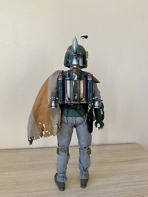 Star Wars Hot Toys Boba Fett Custom ROTJ Jetpack Accessory Sideshow