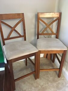 2 Counter height stools in good condition