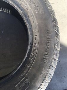 Continental tires 215 70 16