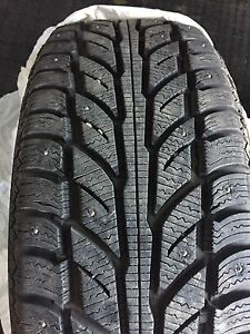 4 205/50R17 Studded Cooper Weather-Master Winter Tires