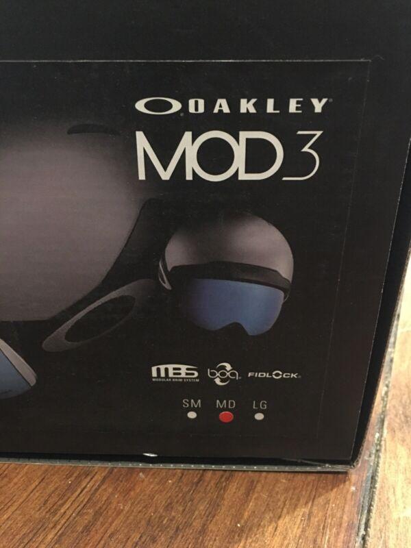 Oakley MOD3 Ski Snowboard Helmet Adult M Matte Cali Blue - Brand New free ship