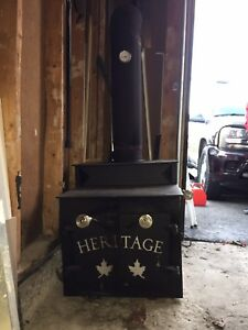 Heritage Wood fireplace