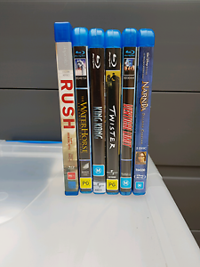 Six Blue Ray DVDs Hamilton South Newcastle Area Preview