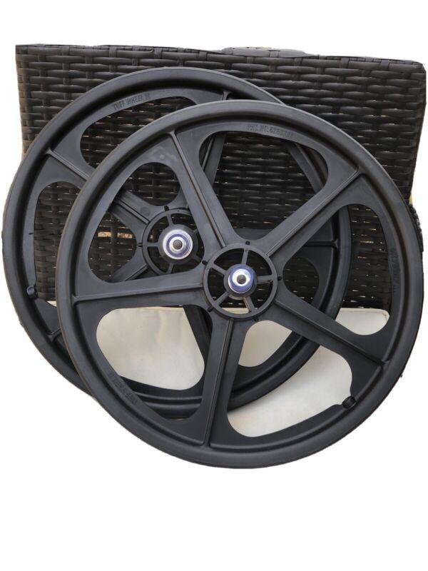 """BMX Skyway Tuff 2 Wheelset 20"""" Black"""