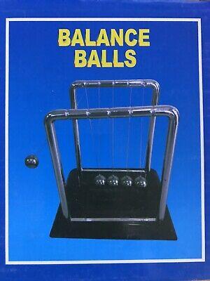 Lot Of 5 Us Newtons Cradle Pendulum Balance Ball Physics Science
