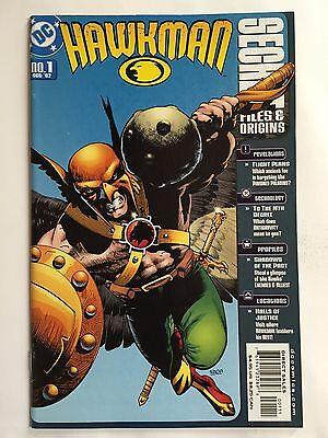 HAWKMAN: SECRET FILES & ORIGINS #1 (Oct 2002 DC) REVELATIONS/PROFILES/TECHNOLOGY